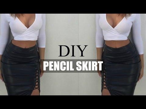 DIY SEWING BASICS | HOW TO MAKE A MIDI PENCIL SKIRT