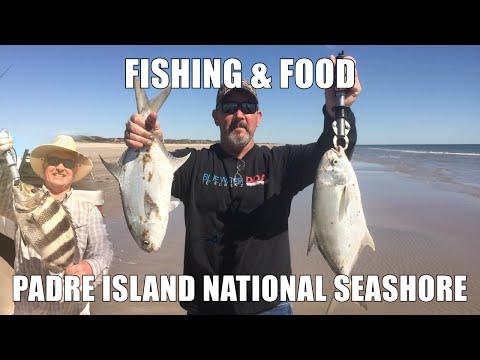 Fishing on Padre Island National Seashore & Cooking Da Fish
