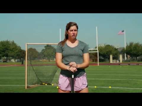 Lacrosse Stick Control and Stick Range Drill with Kayla Treanor