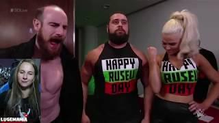 WWE Smackdown 5/15/18 Rusev and Lana Backstage