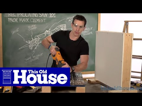Reciprocating Saw 101: How to Use the Shoe - This Old House