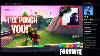 I Stream Sniped my Friend on HIS Birthday & THIS HAPPENED... HE SMASHED HIS CONTROLLER AGAIN!