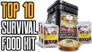 Top 10 Best Survival Food Kits \u0026 Emergency Food Supplies