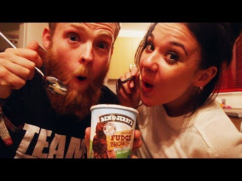 WE TRIED BEN AND JERRY'S NEW VEGAN ICE CREAM
