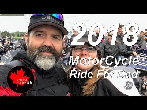 2018 Ottawa Motorcycle Ride For Dad