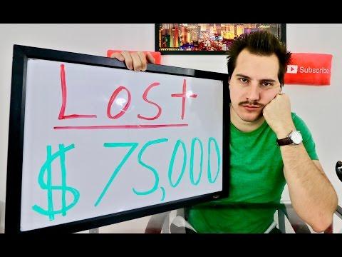 I LOST $75,000 Stock Market Trading in 2015