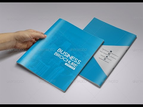 Business Brochure Template 12 Pages