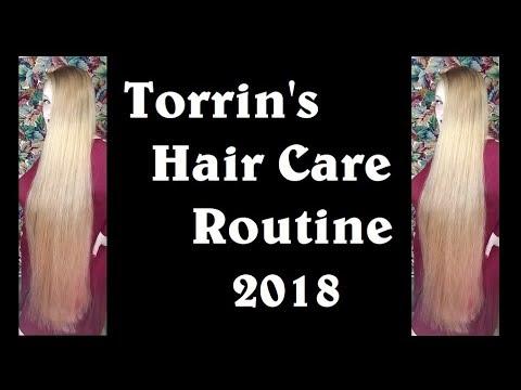 Torrin's Hair Care Routine 2018