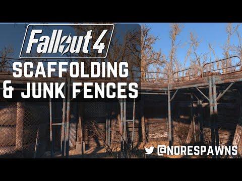 Fallout 4 - Scaffolding & Junk Fences (Tenpines Bluff Build)