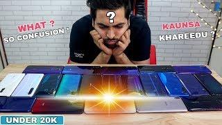 Best Smartphones To Buy Under Rs 20,000 In India [OCT 2019]