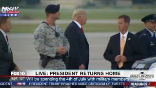 WATCH: President Trump Tries To Ditch His Limo But Then Realizes It