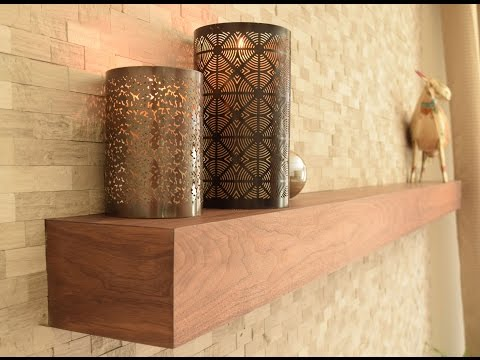 Building a Fireplace Mantel - Floating Shelf