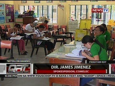 QRT: Panyam kay Dir. James Jimenez, spokesperson, COMELEC