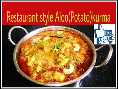 Restaurant style aloo kurma recipe/potato masala/aloo kurma curry/ spicy bangaldonpa kurma
