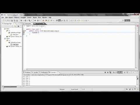 Java 6- User input(int, String)