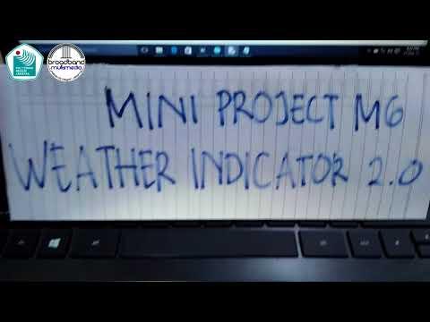 Mini Project (M6) - Weather Indicator v2.0