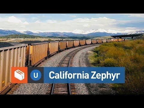 California Zephyr Route - Denver to Glenwood Springs (Timelapse)