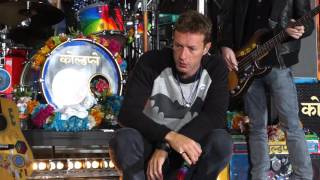 Download Coldplay @ The Today Show FANCAM 03142016