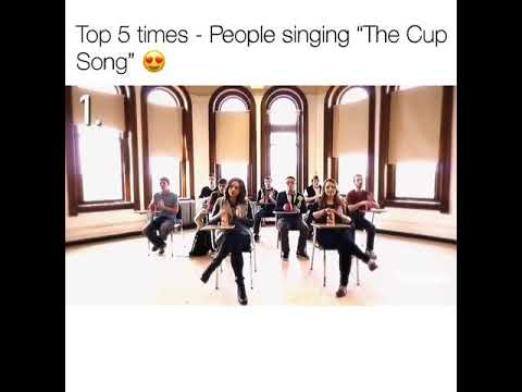 Ways to sing cup song