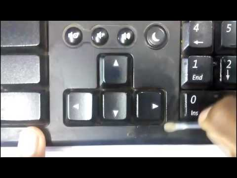 How to clean the sticky dust on the pc keyboard