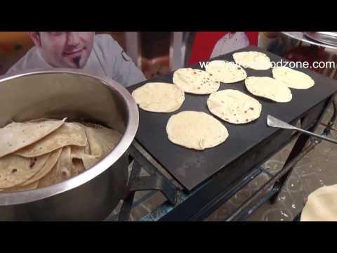 Oil Less Chapati Making | Street Side Food | Pulka | Roti | Rajahmundry Street Food