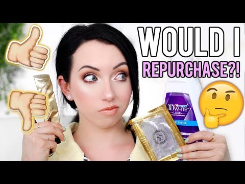 GONERS! WOULD I REPURCHASE?! Products I've Used Up...