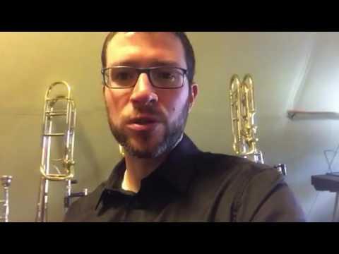 Trombonist Tim Smith for Hammond Design