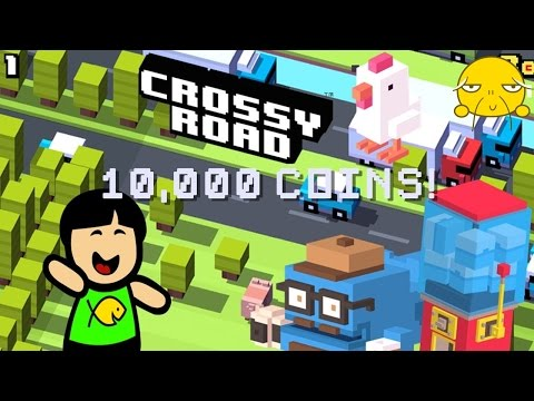 Crossy Road: Asian Spends 10,000 Coins!