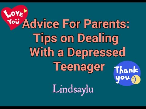 Parent Advice: Tips on Dealing With a Depressed Teenager
