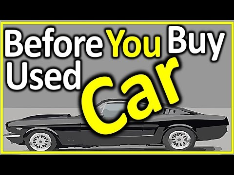 24 Tips:How to Check Used Cars Before Buying from Dealerships/Auto Trader or Private Seller