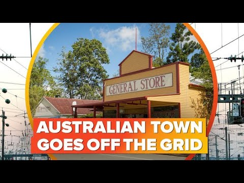 Australian town goes off the grid ditching power companies