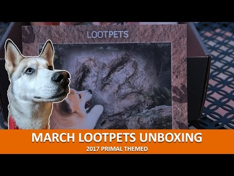 MARCH LOOTPETS UNBOXING | March 2017 Primal Theme