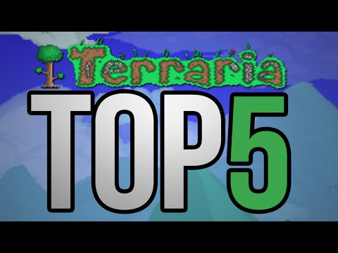 Top 5 Rarest Items In Terraria - The Rarest Items In The Game! [Terraria 1.2.4.1 Update]