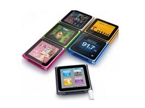 iPod Nano 6th gen. Hands-on