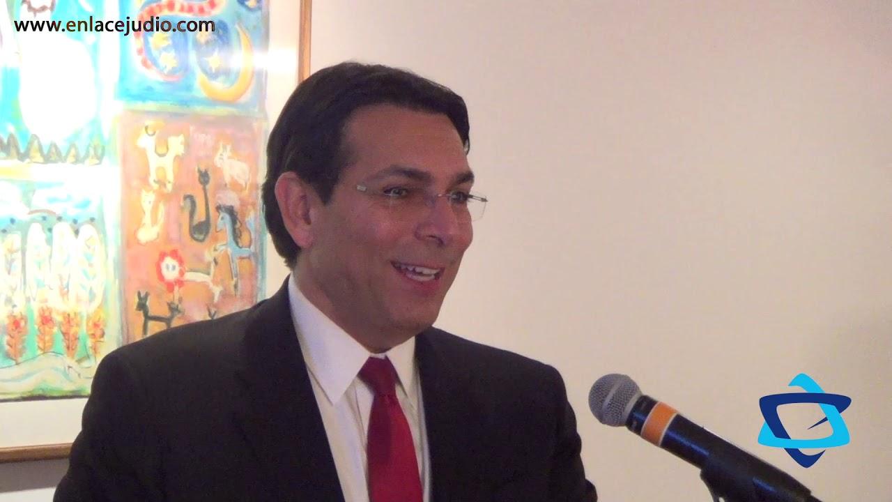 Las anécdotas del embajador de Israel en la ONU: Danny Danon en México