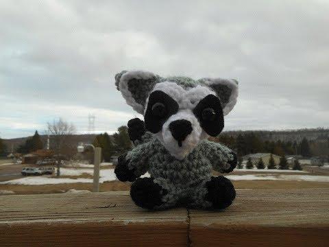 Amigurumi Crochet Raccoon Tutorial