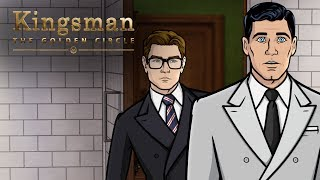 #TBT to That Time Archer Met Kingsman