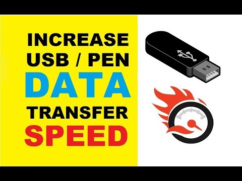 How To Increase USB Pen Drive Data Transfer Speed Without Software [ Faster Copy-Paste ]