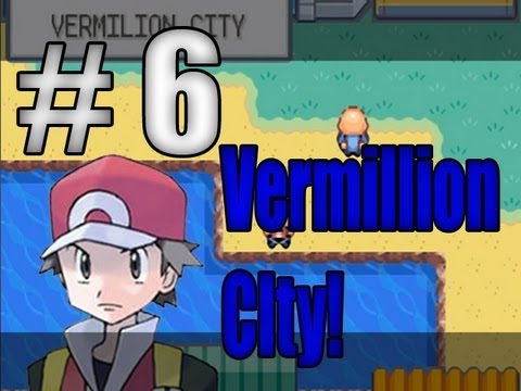 Pokémon Fire Red - Vermilion City