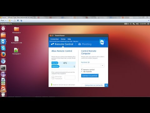 How to Install TeamViewer (remote desktop) Version on Ubuntu