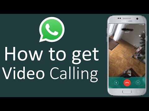 WhatsApp Video Calling Feature Launched LINK +  How to get it