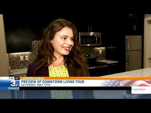 Kelly Curtin Previews Downtown Living Tour 5:30am 5/17/18