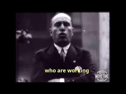 Make America Great - Mussolini - Reagan - Clinton - Trump