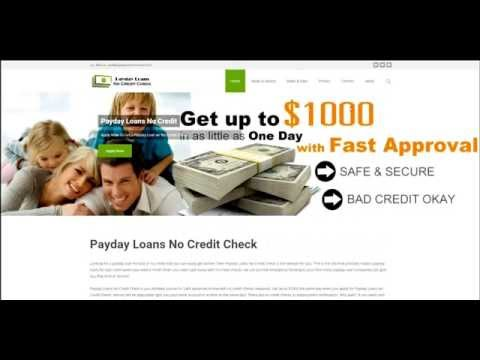 How To Get a Payday Loan Online with No Credit Checks