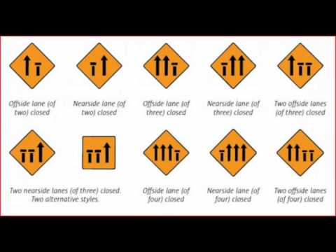 road signs - rules of the road / ireland. wmv