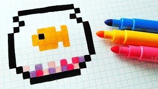 Handmade Pixel Art How To Draw A Chocolate Pixelart