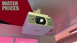 Android Smart Led Projector Review ▶ You Can Buy In Water Prices