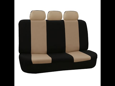 Car Split Bench Seat Covers Installation - FH Group®