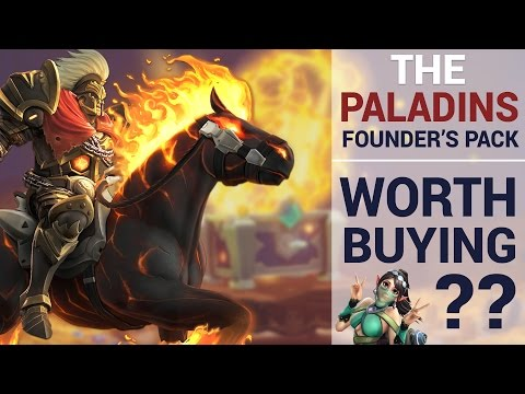 Is The Paladins Founders Pack Worth Buying?