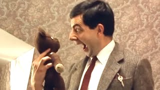 Hair by mr bean of london episode 14 classic mr bean45vj8 videostube teddy accident funny clip classic mr bean solutioingenieria Images